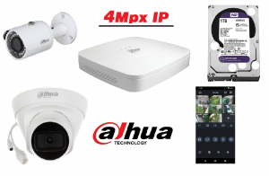 Dahua 4Mpx IP
